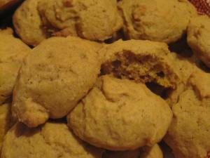 Pumpkin Rosemary Cookies