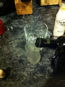 Splash of absinthe.